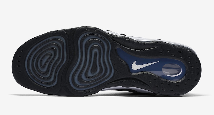 Nike Air Max Uptempo '97 White Black College Navy 399207 101