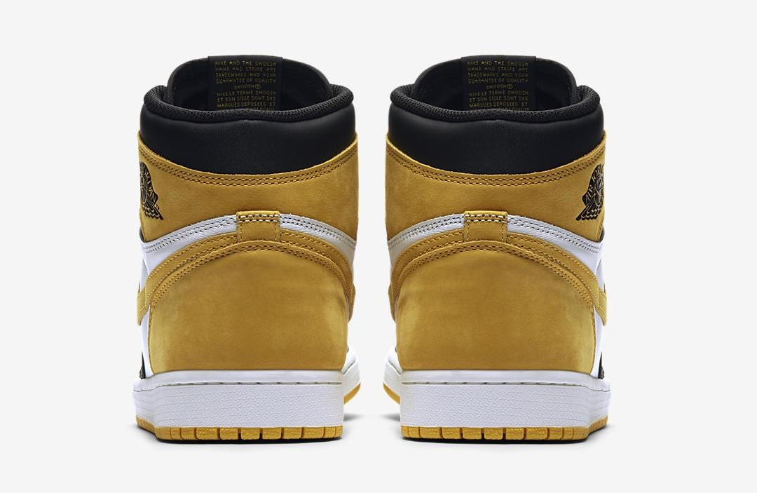 1ffec9666f7 Air Jordan 1 Retro High Og Yellow Ochre