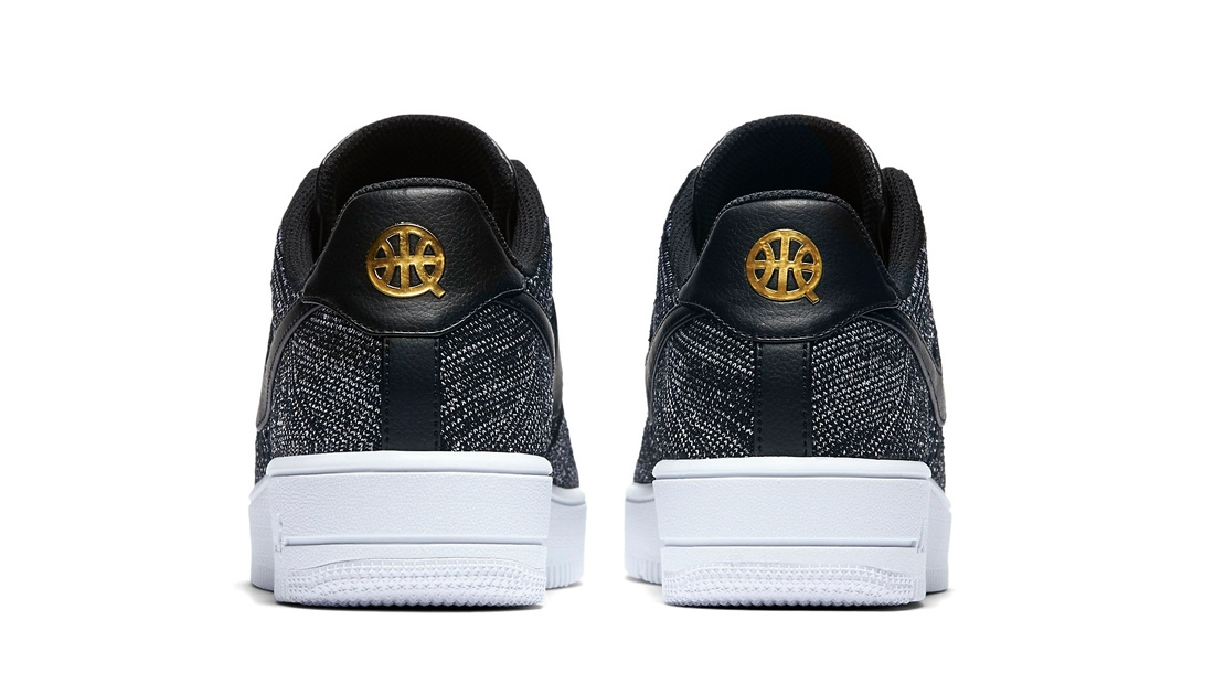 199881b70 ... The Nike Air Force 1 Ultra Flyknit Low Quai 54 features a Black and White  Flyknit ...