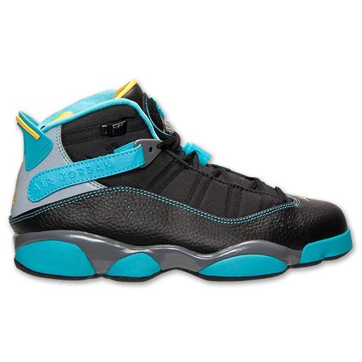 e1a2d4512bb059 ... from each of the 7 shoes that Michael Jordan wore to win his Jordan 6  Rings Gamma Blue Jordan 6 Rings Color BlackVarsity Maize-Cool Grey-Gamma ...