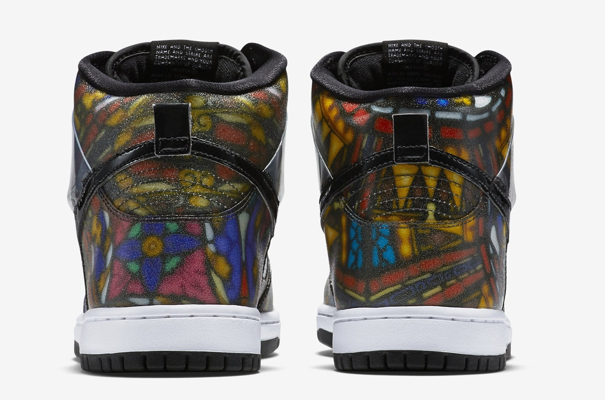 newest bac8a 5559f Concepts x Nike SB Dunk High Stained Glass
