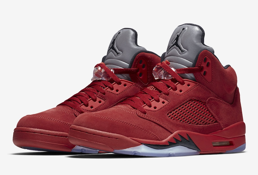 outlet store sale top fashion online shop BUY Air Jordan 5 Red Suede | Kixify Marketplace