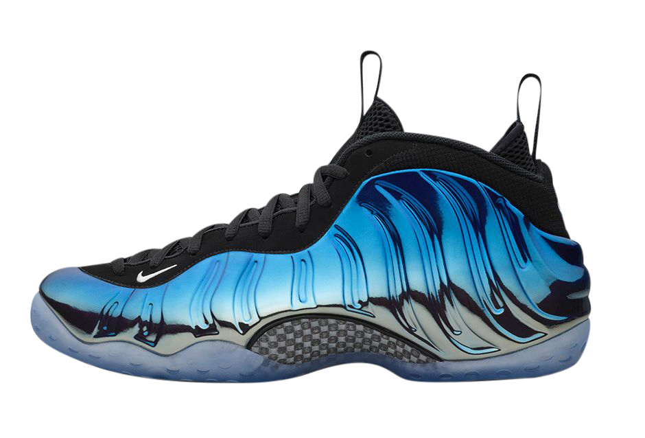 NBA 2k20 Shoe Creator Air Foamposite One Grey Blue ...