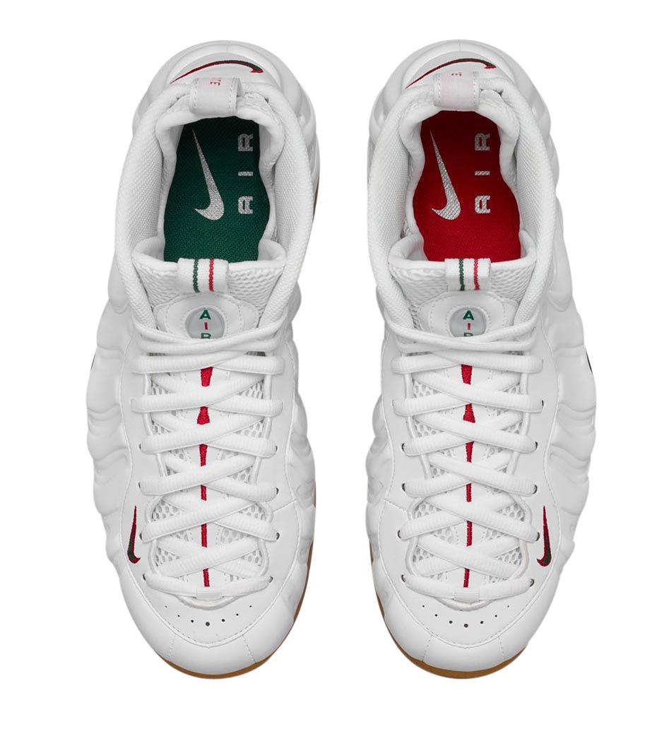 Nike Air Foamposite Pro - White Gucci