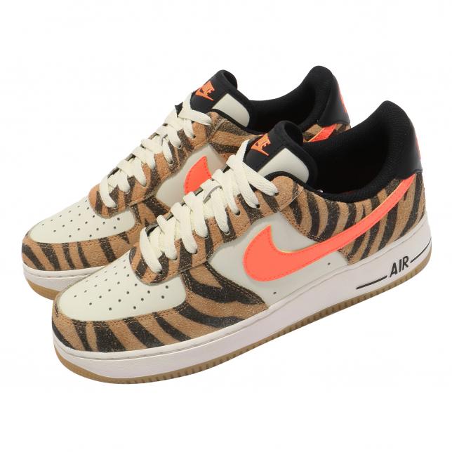 Nike Air Force 1 07 Prm Coconut Milk Atomic Orange