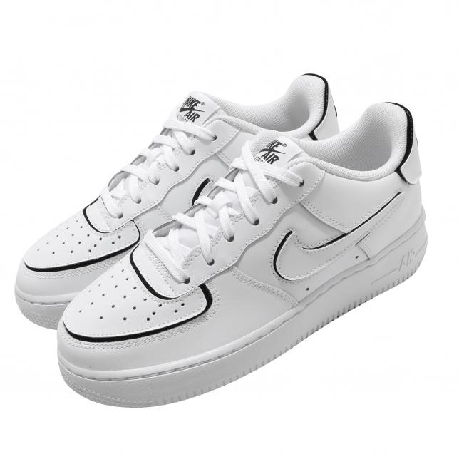 Nike Air Force 1/1 Gs White Black