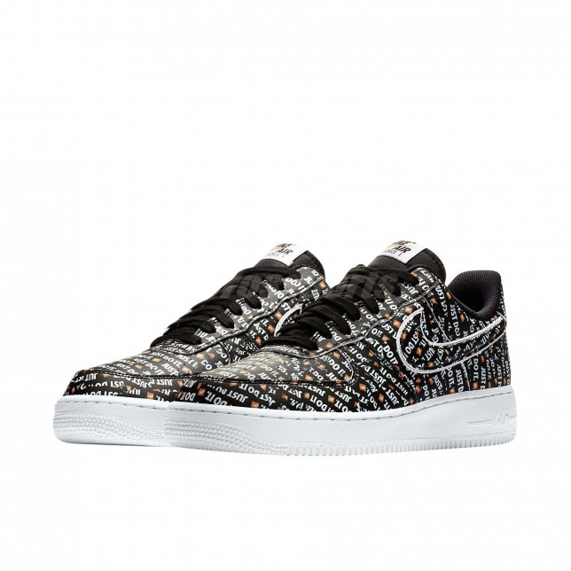 Nike Air Force 1 Low Just Do It Black