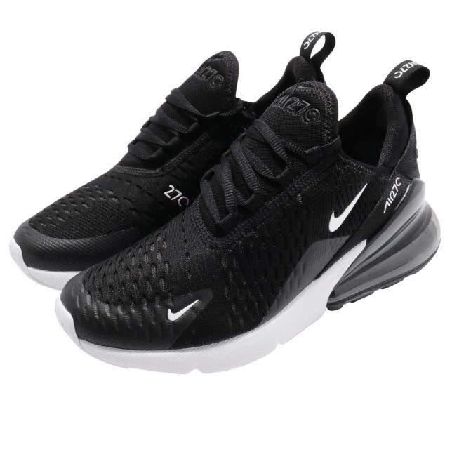 BUY Nike Air Max 270 GS Black White