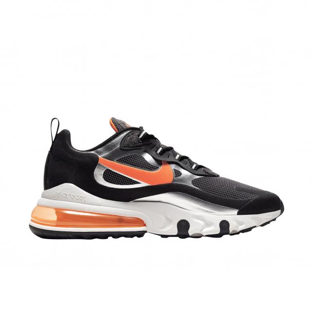 Buy Nike Air Max 270 React Black Total Orange Kixify Marketplace