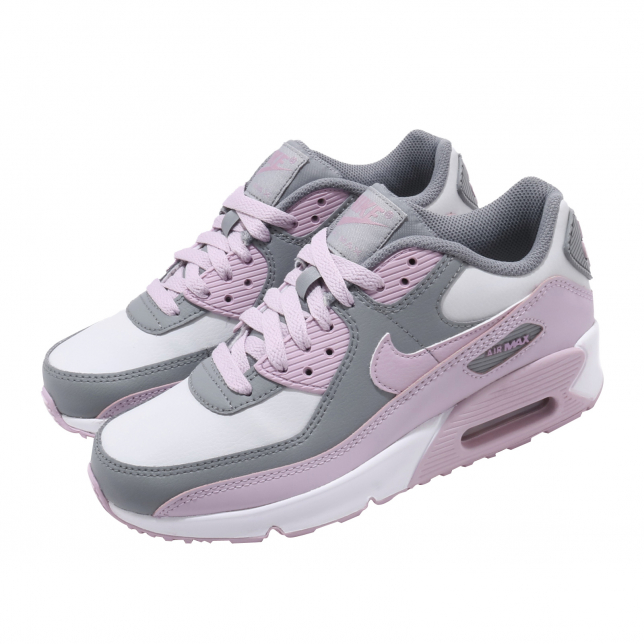 BUY Nike Air Max 90 LTR GS Particle Grey Iced Lilac | Missgolf ...