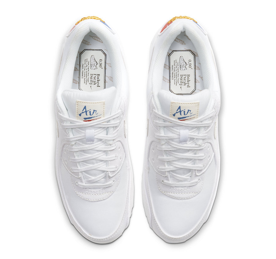 Nike Air Max 90 Paris CQ0912-100 - KicksOnFire.com