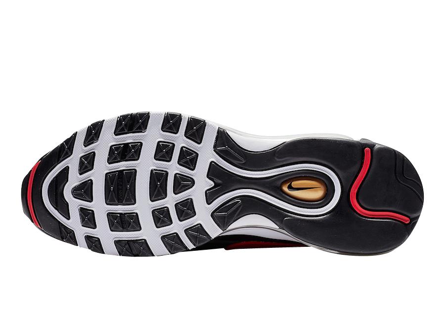 Buy Nike Air Max 97 Bw Metallic Gold University Red Kixify
