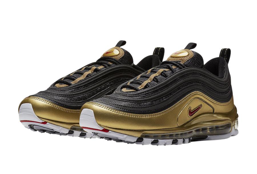 Nike Air Max 97 Metallic Gold Black