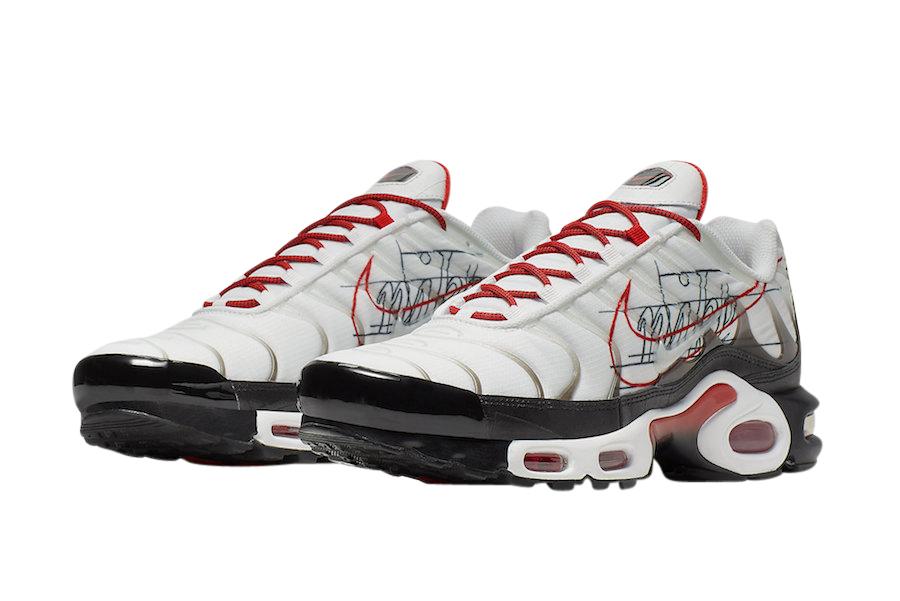 BUY Nike Air Max Plus White University