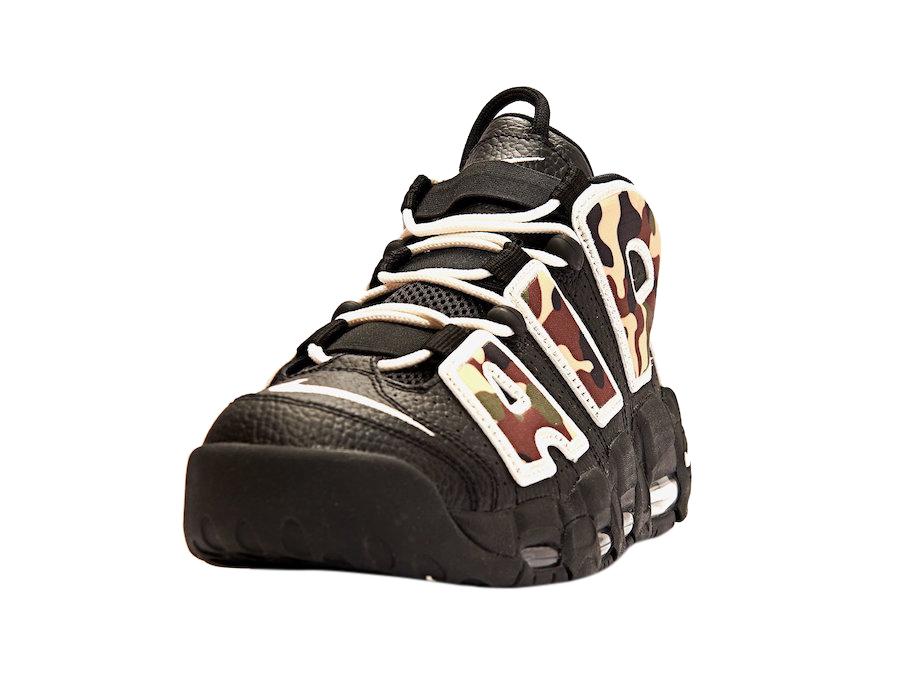 BUY Nike Air More Uptempo Black Camo