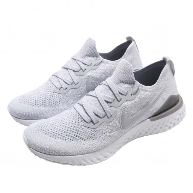 Nike Epic React Flyknit 2 Pure Platinum