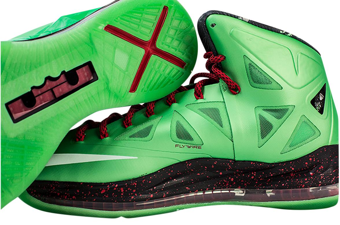 Nike LeBron 10 Cutting Jade - KicksOnFire