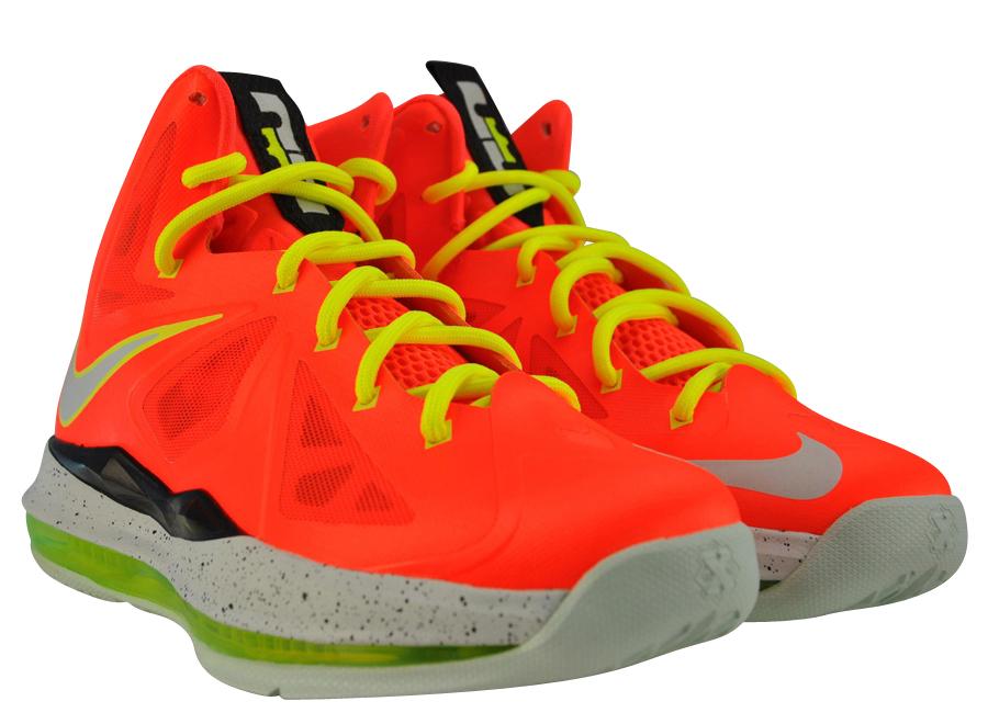 BUY Nike LeBron 10 GS - Total Crimson