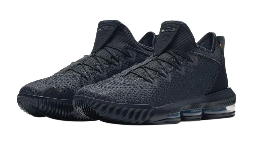 Nike LeBron 16 Low Triple Black
