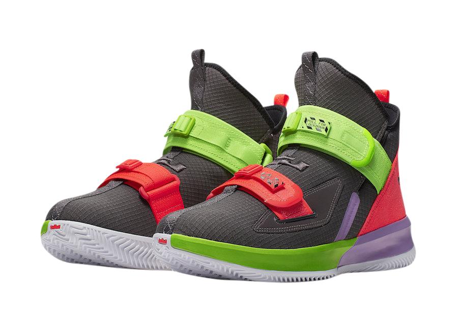 BUY Nike LeBron Soldier 13 Thunder Grey