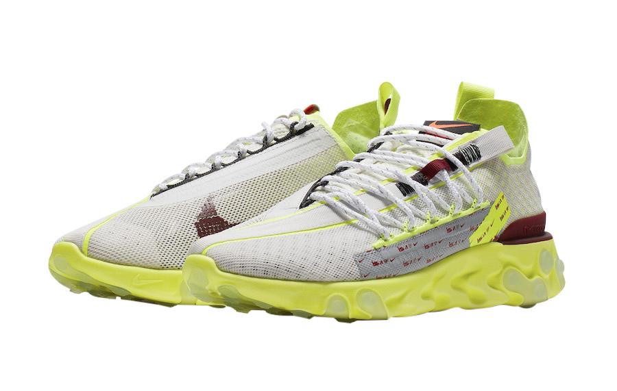 Nike React Runner Ispa Pure Platinum