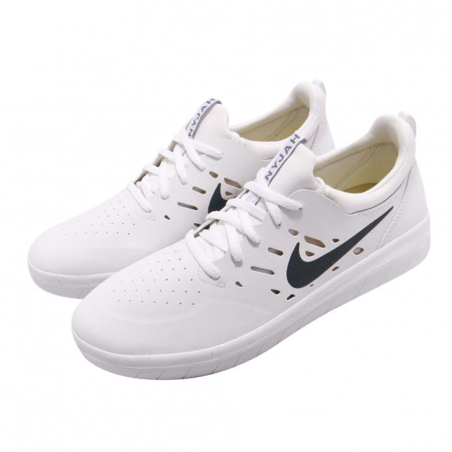 BUY Nike SB Nyjah Free White Black