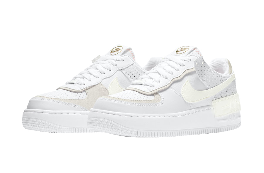 Nike WMNS Air Force 1 Shadow White Atomic Pink