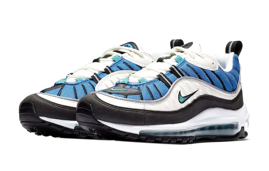 Review] Nike Air Max 98 'Solar Red & Radiant Emerald