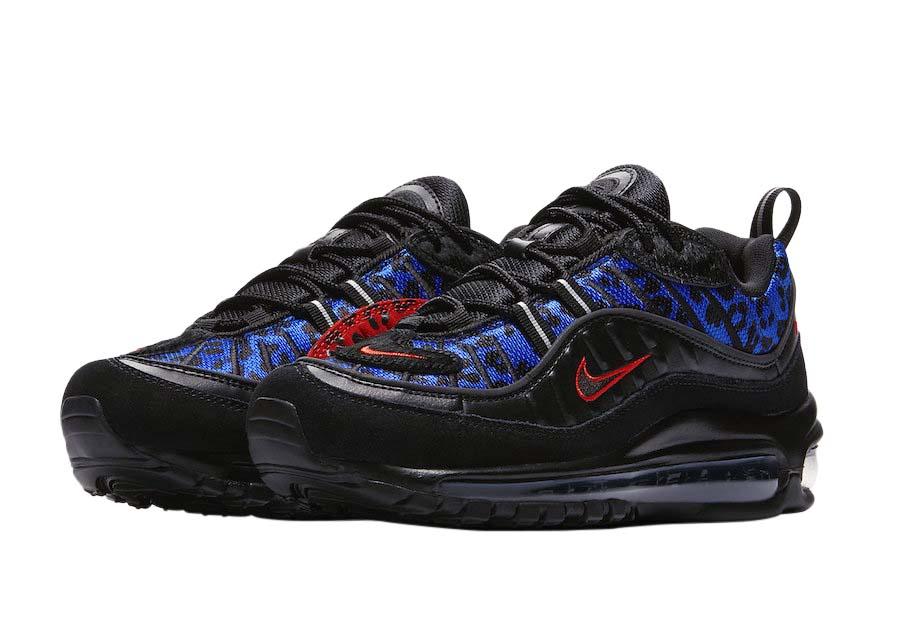 Nike Wmns Air Max 98 Premium Black Leopard