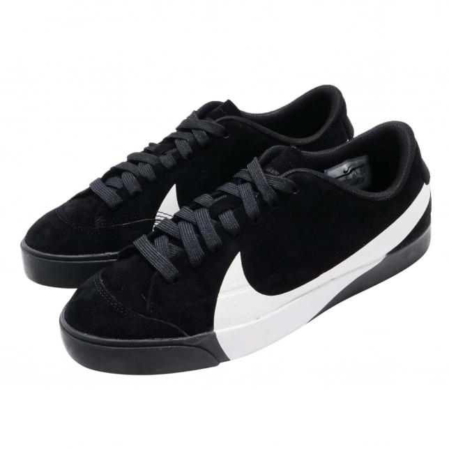 Nike WMNS Blazer City Low LX Black White AV2253001 - KicksOnFire.com