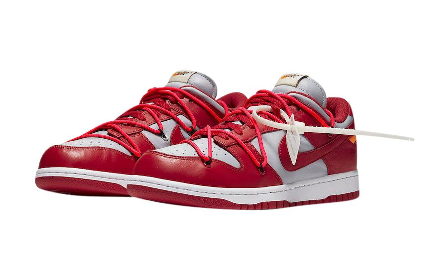 X Nike Dunk Low University Red