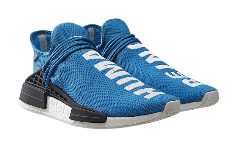 blue adidas human race online -