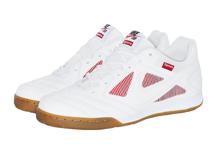 BUY Supreme X Nike SB Gato White