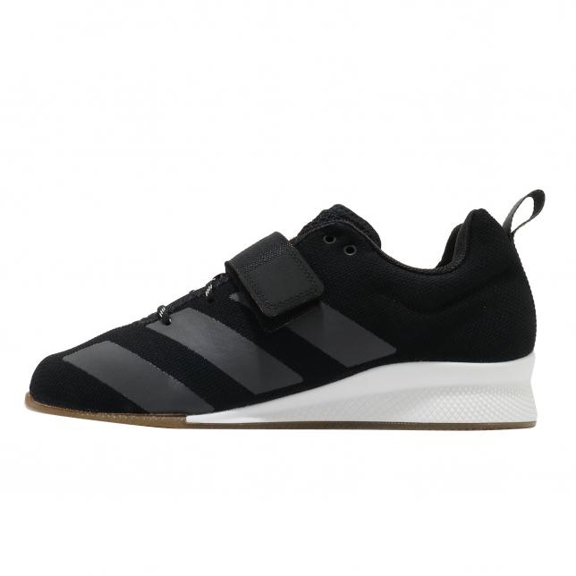 Adidas Adipower Weightlifting Core Black Grey Six
