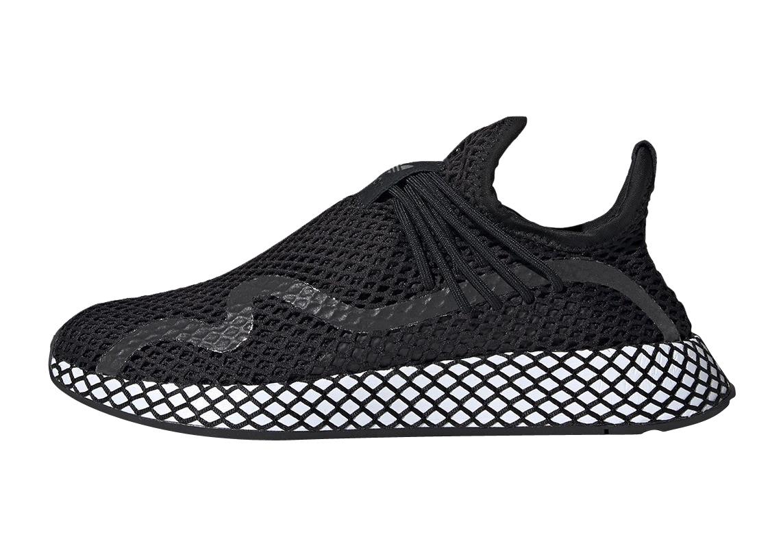 BUY Adidas Deerupt S Black White