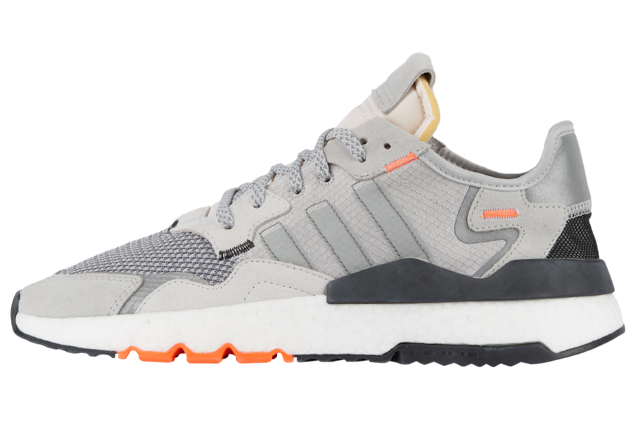 BUY Adidas Nite Jogger Grey Orange