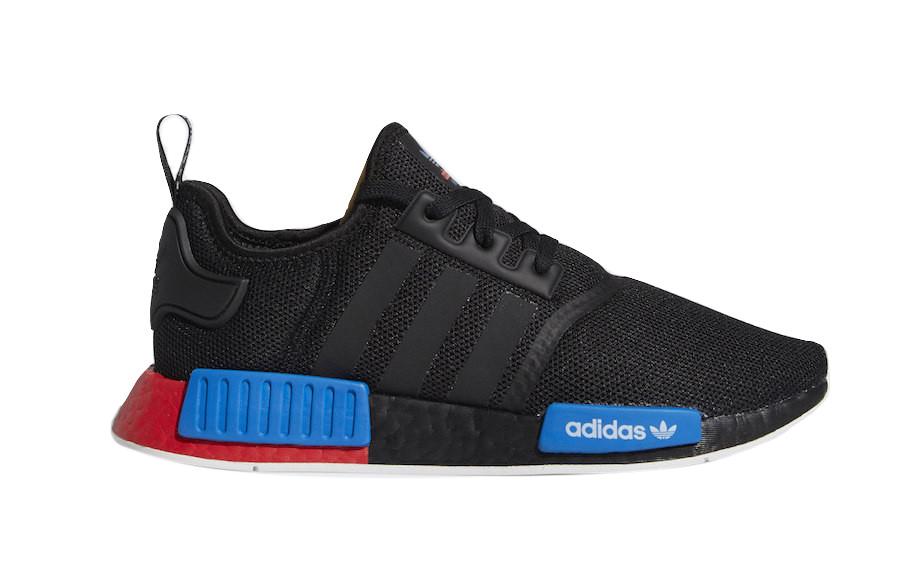 Adidas Nmd R1 Black Red Boost