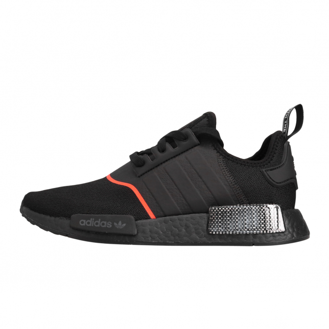Adidas Nmd R1 Core Black Solar Red Kicksonfire