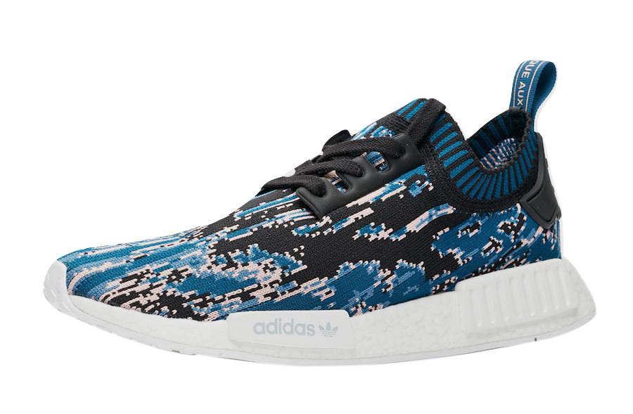 Adidas Nmd R1 Datamosh 2 0 Core Black Blue Night Kicksonfire