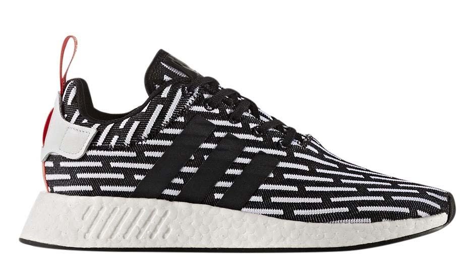 Adidas NMD R2 Core Black Running White