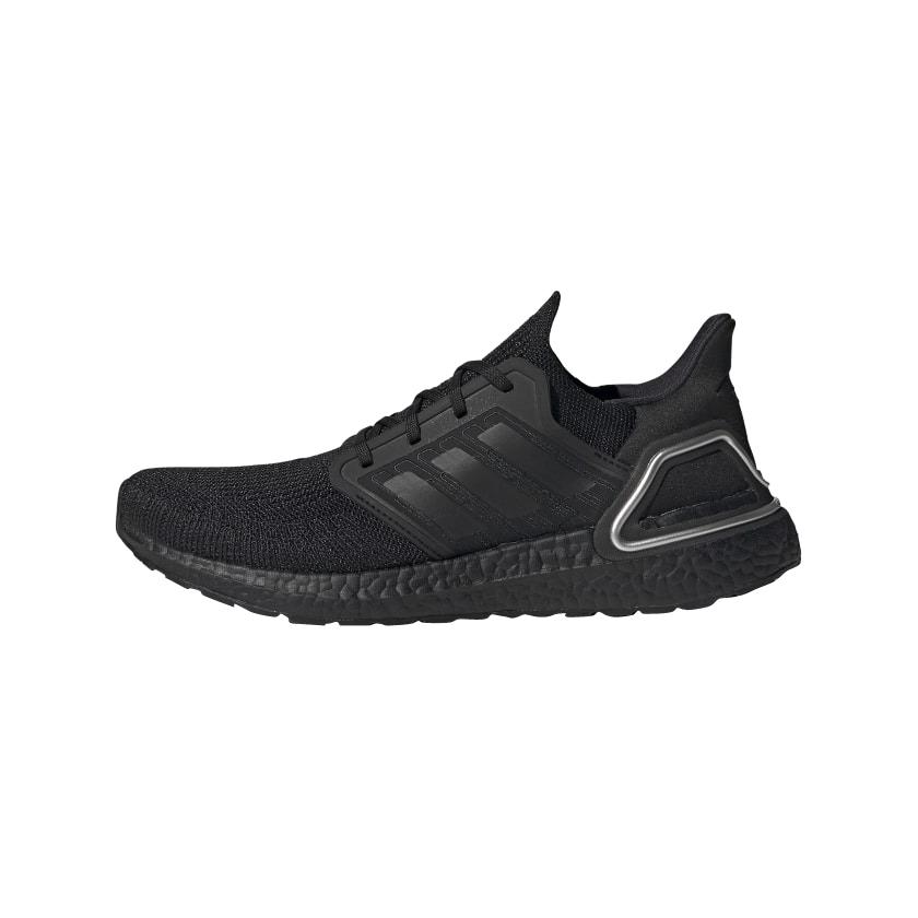 Adidas Ultra Boost 2020 Core Black Silver Metallic