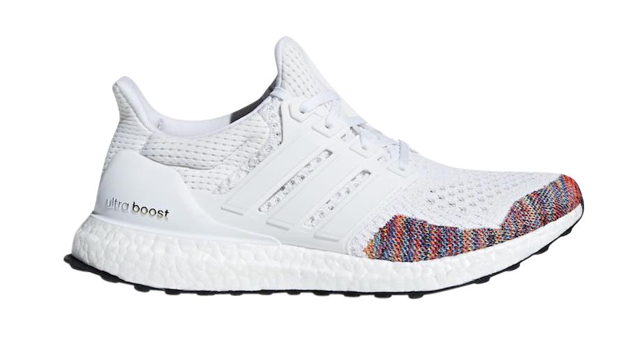 BUY Adidas Ultra Boost Rainbow White
