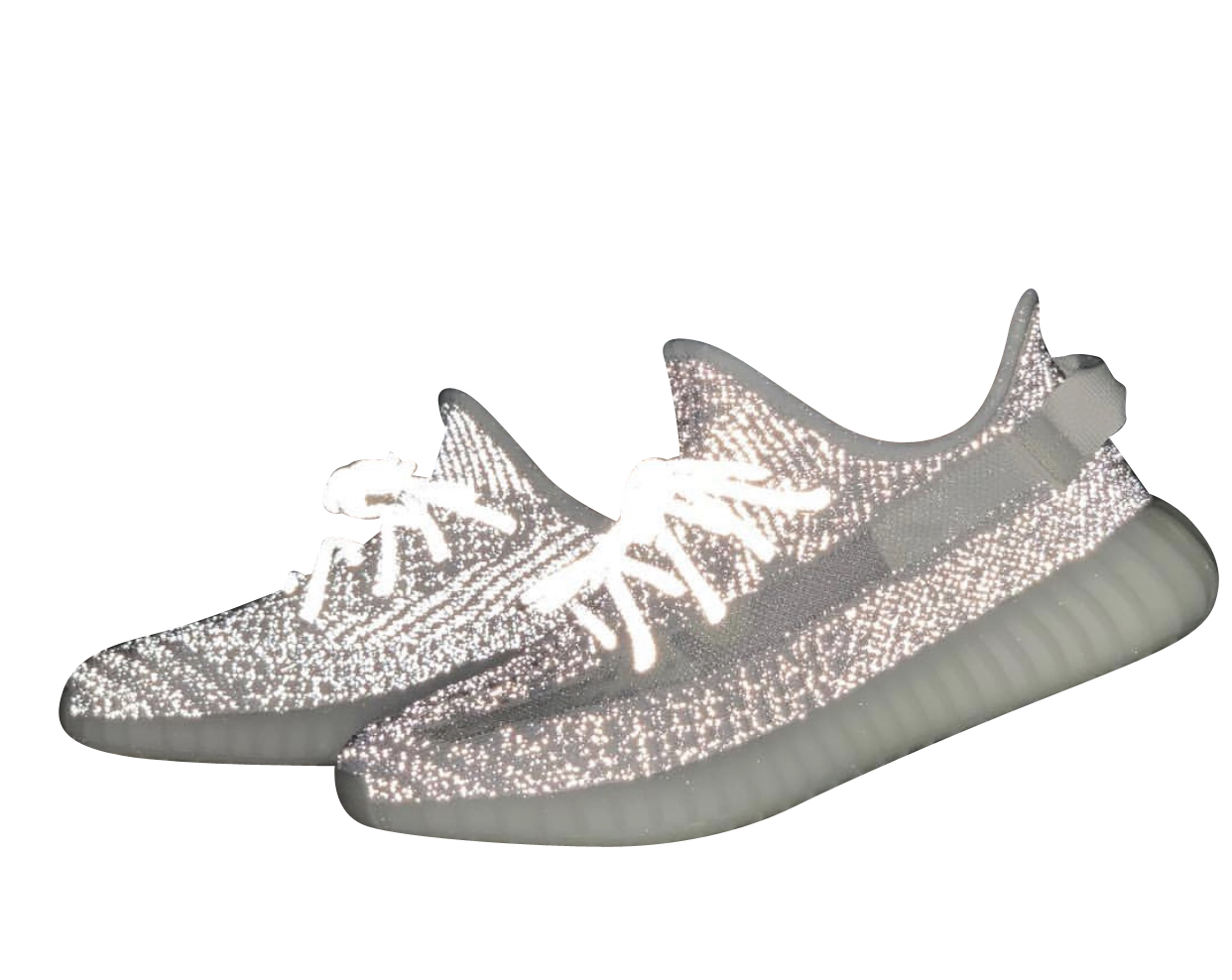 yeezy static and static reflective