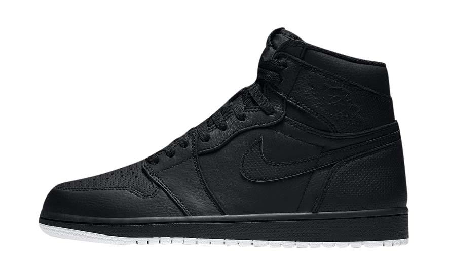 BUY Air Jordan 1 High Perforated Black