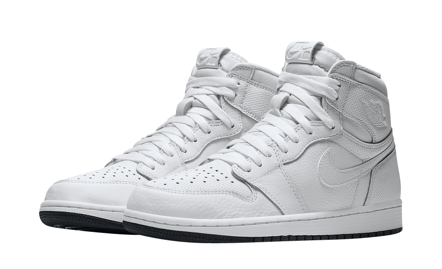 BUY Air Jordan 1 High Perforated White