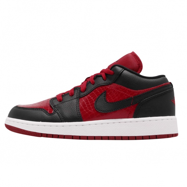 Air Jordan 1 Low Gs Gym Red Black