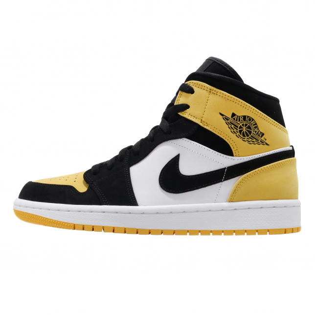 Air Jordan 1 Mid SE Black Tour Yellow