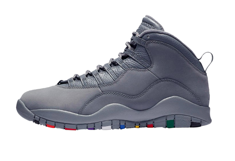 Air Jordan 10 Cool Grey - KicksOnFire