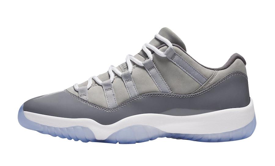BUY Air Jordan 11 Low Cool Grey