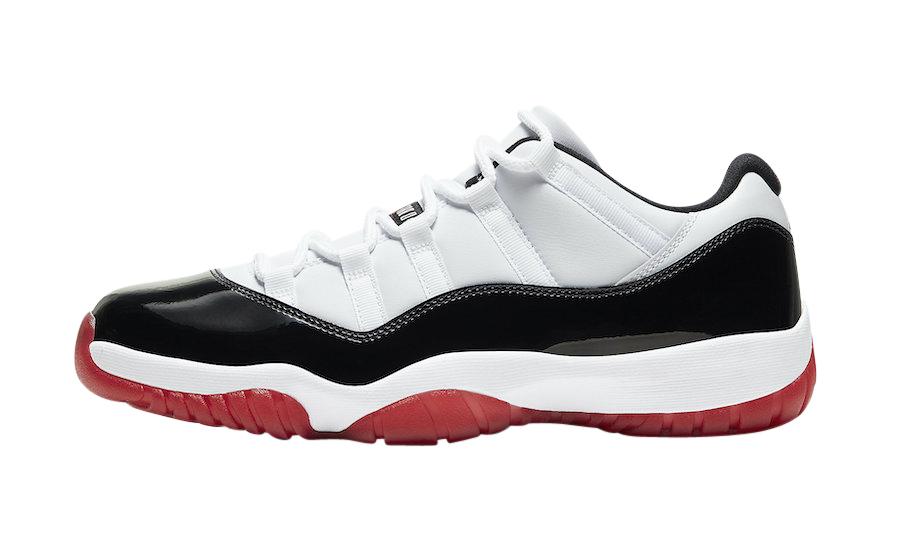 BUY Air Jordan 11 Low Gym Red | Kixify